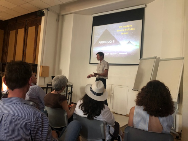 """5 et 6 juillet 2019 à Paris - conférence et atelier """"Pyramide de Gizeh. Quel message pour aujourd'hui ?"""" avec Mathieu Laveau"""