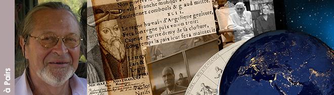 """Mercredi 5 décembre 2018 à Paris - """"Nostradamus, un système de décodage temporel dont le temps est venu !"""" avec Christian Turpin"""
