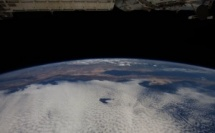 La terre vue d'un satellite